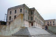 Free Exercise Yard At Alcatraz Royalty Free Stock Photo - 2092595