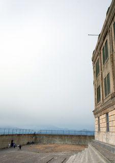 Free Exercise Yard At Alcatraz Stock Photo - 2092600