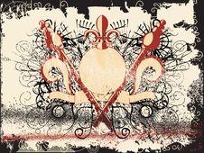 Free Grunge Style Border Royalty Free Stock Photo - 2093375