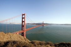 Free Golden Gate Bridge Stock Image - 2093401