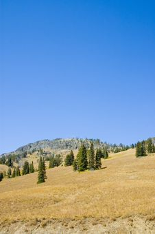 Free Blue Sky In Lamar Valley Stock Image - 2093751