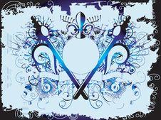 Free Grunge Style Border Stock Image - 2094191