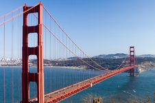 Free Golden Gate Bridge Stock Image - 2094241