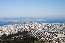 Free Downtown San Francisco Stock Photography - 2095132