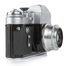 Free Classic 35mm Camera. Zenit-3M. Stock Photo - 2096620
