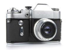Free Classic 35mm Camera. Zenit-3M. Royalty Free Stock Image - 2096696