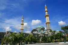 Free Federal Mosque Royalty Free Stock Image - 2096736