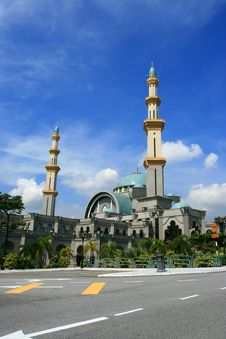 Free Federal Mosque Royalty Free Stock Image - 2096856