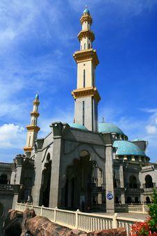 Federal Mosque Royalty Free Stock Photos