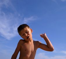 Free Young Boy Royalty Free Stock Photography - 2097777