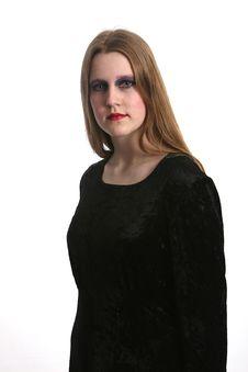 Free Goth Beauty Royalty Free Stock Photos - 2098418