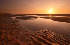 Sunset Evening Royalty Free Stock Photo