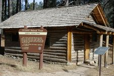 Free Log Cabin, Arizona Stock Photo - 2099030