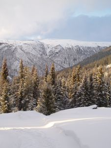 Free Mountain Landscape Royalty Free Stock Photography - 2099267
