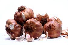 Free Smoked Garlic Royalty Free Stock Photos - 2099458
