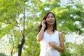 Free Women Talking Mobile Phone Royalty Free Stock Photography - 20901657