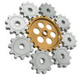 Free Group Gears Stock Image - 20909571