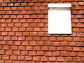 Free Brick Wall With A Sign For A House Number Stock Photos - 20909643