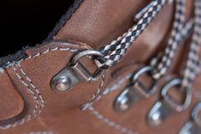 Close Up Of Boot Shoe Stock Photos