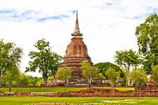 Free Sukhothai Historical Park Royalty Free Stock Photography - 20900807