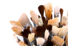 Free Artist Paintbrushes Stock Images - 20900924