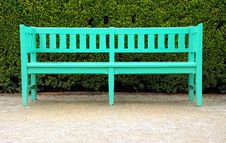 Free Green Bench Stock Photo - 20901520