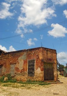 Free House In Trinidad, Cuba Royalty Free Stock Photos - 20901728