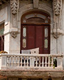 Free Balcony At Havana Stock Image - 20902261