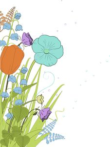 Free Spring Florals Royalty Free Stock Photo - 20902375