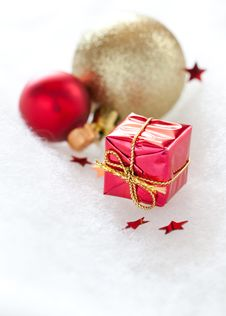 Free Christmas Gift Royalty Free Stock Photos - 20902468