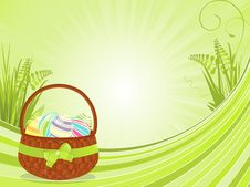 Free Easter Basket Background Stock Photo - 20902490