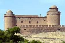 La Calahorra Castle Spain Royalty Free Stock Photos