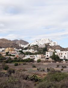 Mojacar Village, Spain Royalty Free Stock Photography
