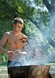 Free Summer Barbeque Royalty Free Stock Image - 20903436