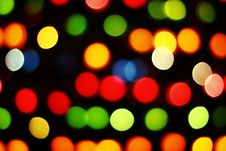 Free Blurred Lights Royalty Free Stock Photos - 20904298