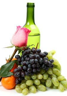 Free Wine And Grapes Stock Image - 20904541
