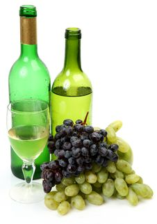 Free Wine And Grapes Royalty Free Stock Photos - 20904568