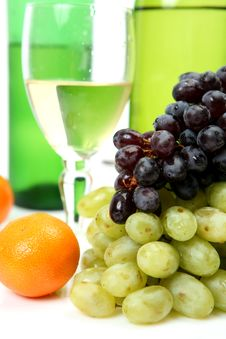 Free Wine And Grapes Stock Photos - 20904603