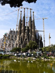 Free La Sagrada Familia (Barcelona) In Spain Stock Photos - 20904643