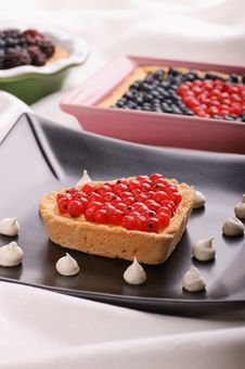 Free Assorted Tarts With Berries Stock Image - 20904671