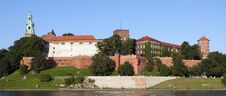 Free Wawel Castle Panorama Royalty Free Stock Image - 20905156