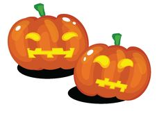Free Halloween Pumpkins Royalty Free Stock Photography - 20905577