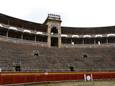 Free Bullfighting Arena Puerta De Palma , Spain Stock Photography - 20905612