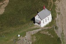 Church At Pilatus Mountain Stock Images