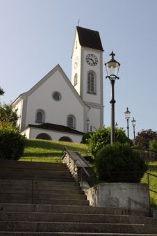 Free Kriens Parish Church Stock Image - 20906171