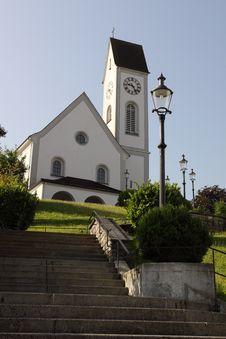 Kriens Parish Church Stock Image