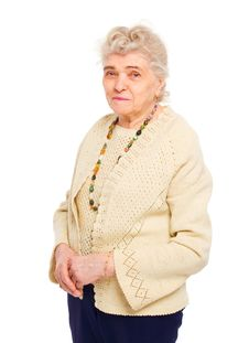 Free Healthy Old Woman Royalty Free Stock Photos - 20906228