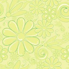 Free Abstract Floral Background Royalty Free Stock Image - 20906266
