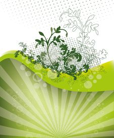 Free Green Background Royalty Free Stock Image - 20906826