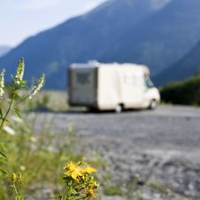 Wild Camper Motor Home Stock Photography